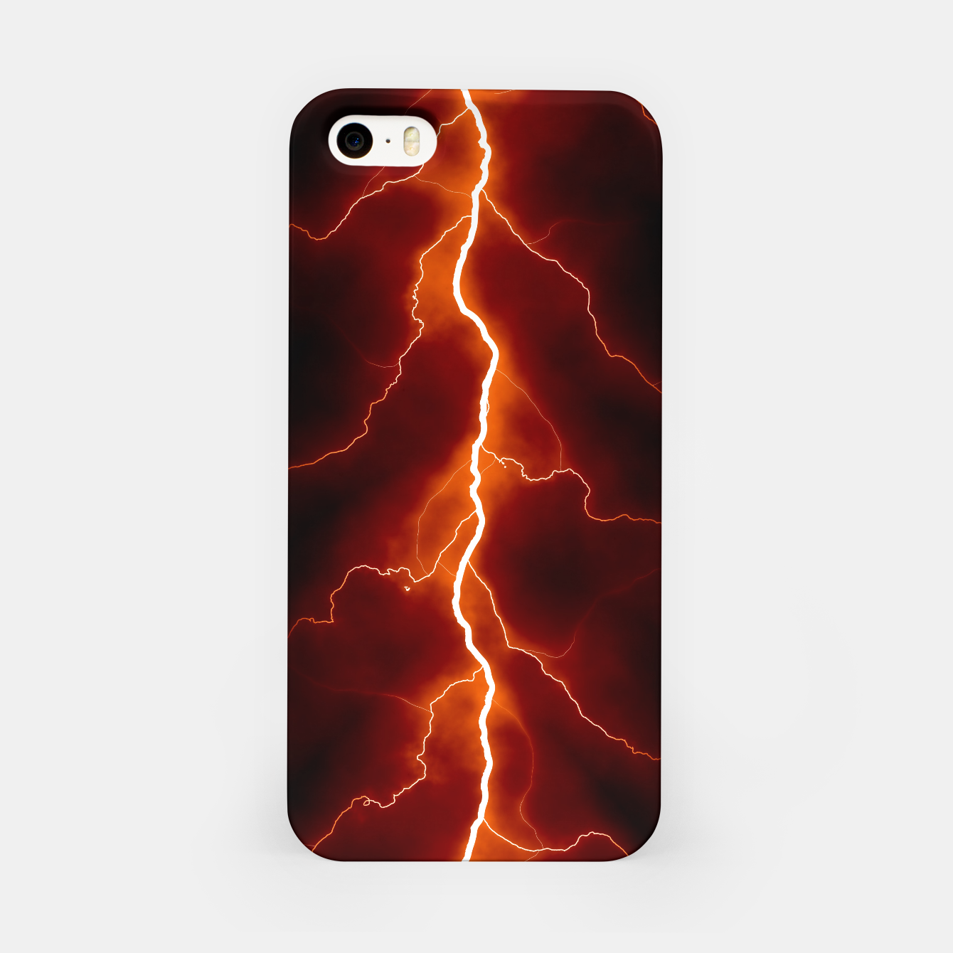 Foto Natural Forked Lightning - 06 iPhone Case - Live Heroes
