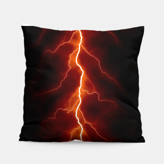 Natural Forked Lightning - 06 Pillow Bild der Miniatur