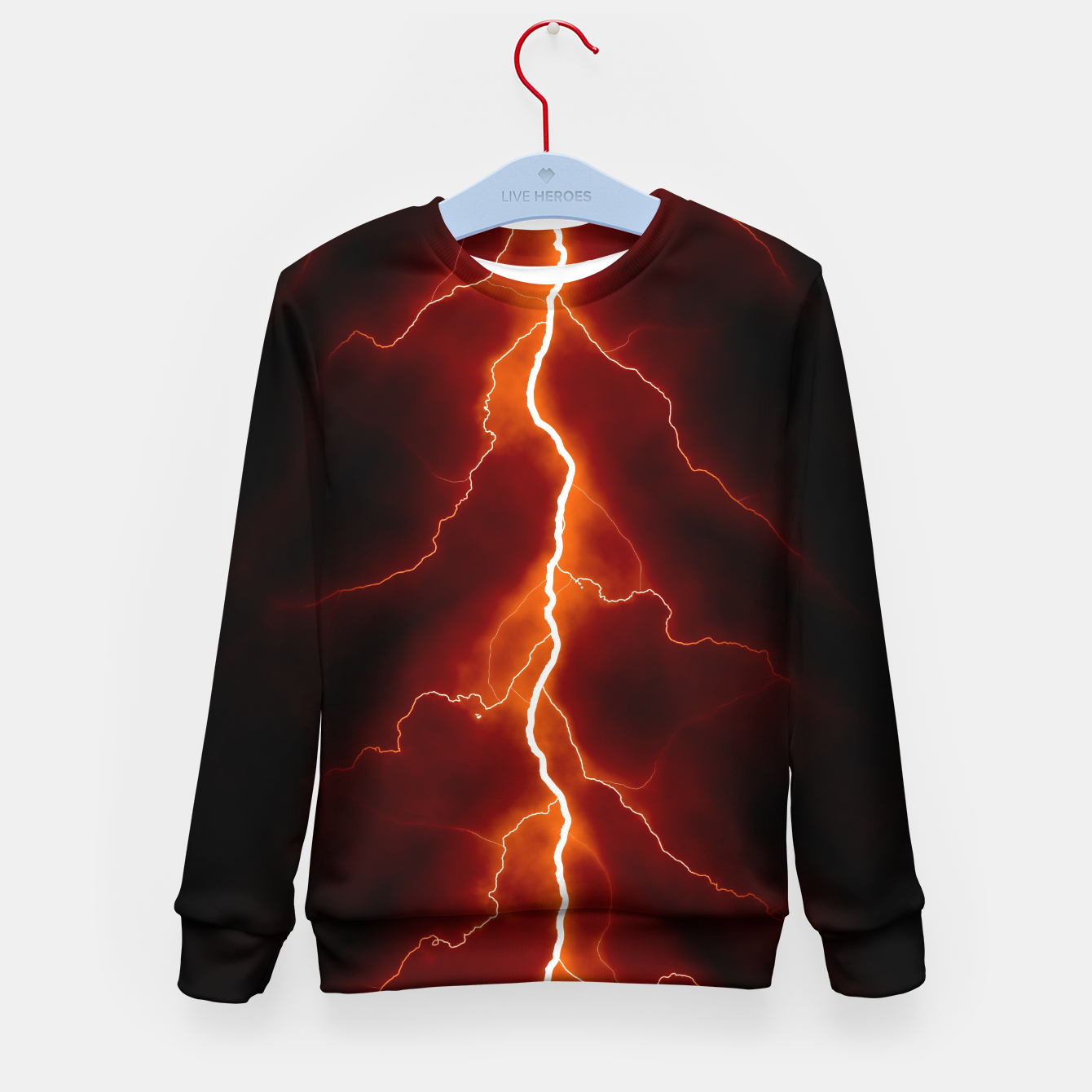 Foto Natural Forked Lightning - 06 Kid's sweater - Live Heroes