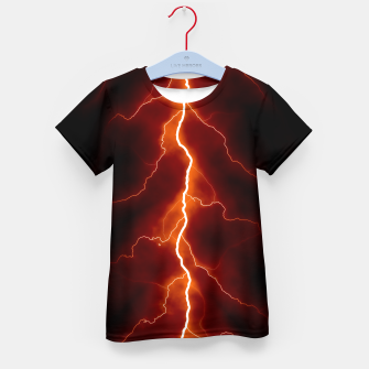 Natural Forked Lightning - 06 Kid's t-shirt Bild der Miniatur