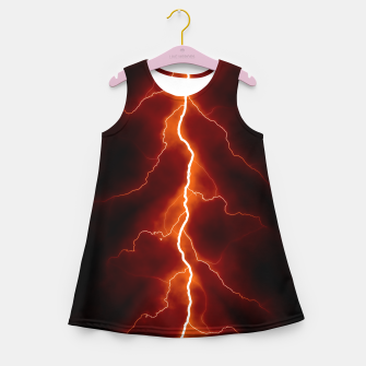 Natural Forked Lightning - 06 Girl's summer dress Bild der Miniatur