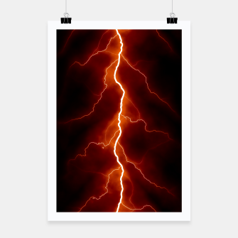 Miniatur Natural Forked Lightning - 06 Poster, Live Heroes