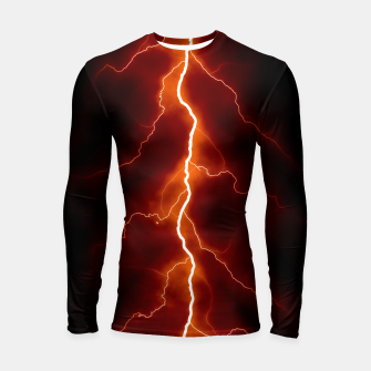 Thumbnail image of Natural Forked Lightning - 06 Longsleeve rashguard , Live Heroes