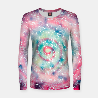 Thumbnail image of Galaxy powder - Leminx Women sweater, Live Heroes