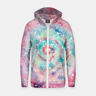 Thumbnail image of Galaxy powder - Leminx Zip up hoodie, Live Heroes