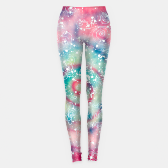 Thumbnail image of Galaxy powder - Leminx Leggings, Live Heroes