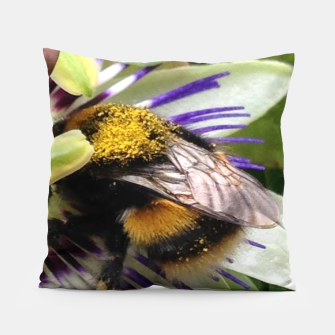 Bumblebee Pillow miniature