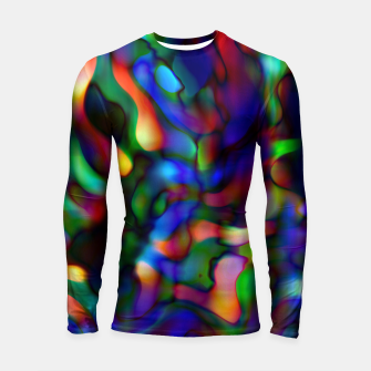 Thumbnail image of Computer Gummi Worms Infection (LH091) Longsleeve rashguard , Live Heroes