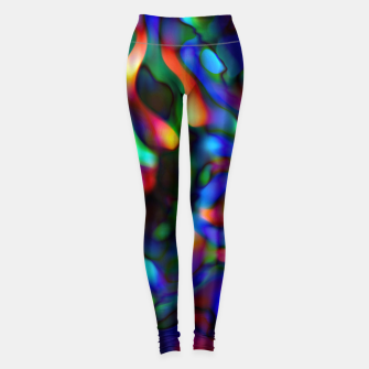Thumbnail image of Computer Gummi Worms Infection (LH091) Leggings, Live Heroes