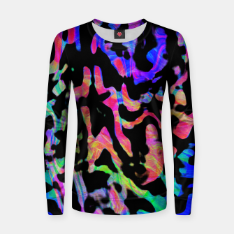Thumbnail image of Neon Cheetah Print (LH086) Women sweater, Live Heroes