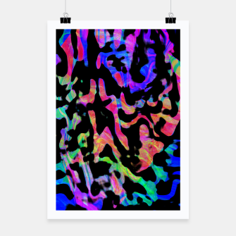 Thumbnail image of Neon Cheetah Print (LH086) Poster, Live Heroes