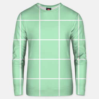 Thumbnail image of Grid pattern on carnival glass Unisex sweater, Live Heroes