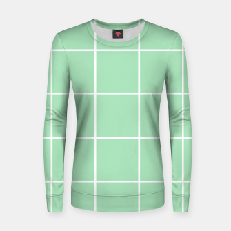 Thumbnail image of Grid pattern on carnival glass Women sweater, Live Heroes