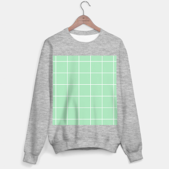 Thumbnail image of Grid pattern on carnival glass Sweater regular, Live Heroes
