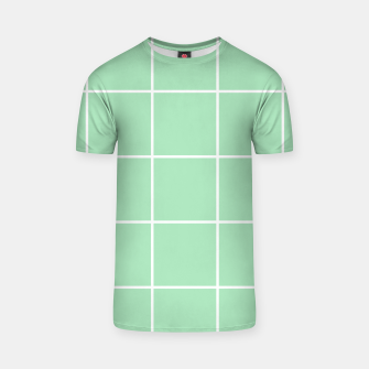 Thumbnail image of Grid pattern on carnival glass T-shirt, Live Heroes