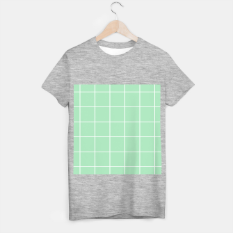 Thumbnail image of Grid pattern on carnival glass T-shirt regular, Live Heroes