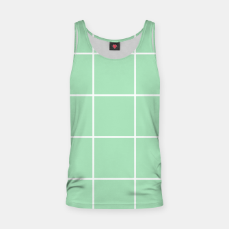 Thumbnail image of Grid pattern on carnival glass Tank Top, Live Heroes