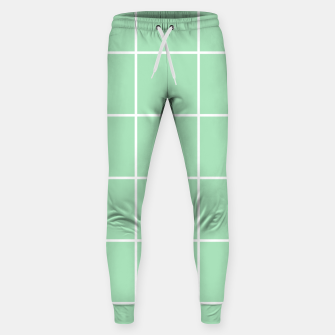 Thumbnail image of Grid pattern on carnival glass Sweatpants, Live Heroes