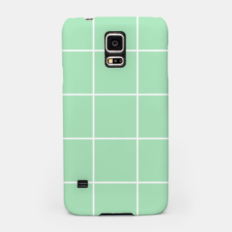 Thumbnail image of Grid pattern on carnival glass Samsung Case, Live Heroes