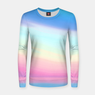 Miniatur Colorful Sky Women sweater, Live Heroes