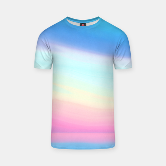 Miniatur Colorful Sky T-shirt, Live Heroes
