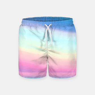 Miniatur Colorful Sky Swim Shorts, Live Heroes