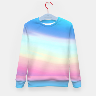 Miniatur Colorful Sky Kid's sweater, Live Heroes