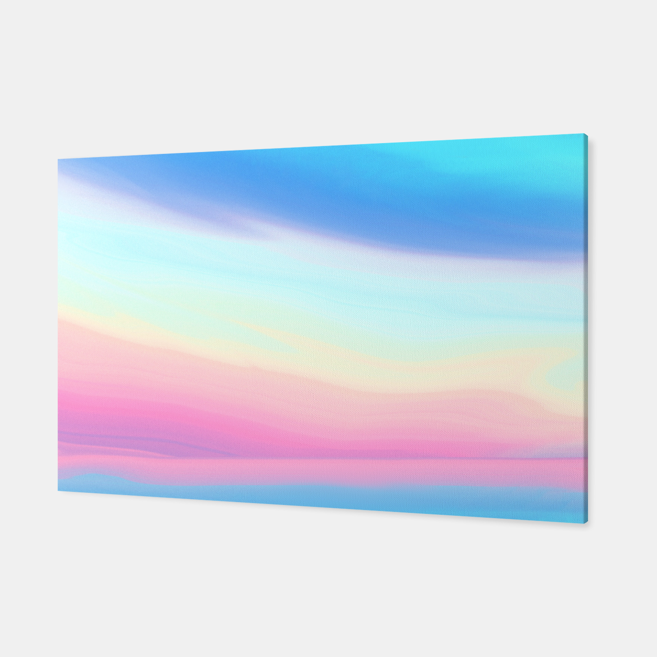 Image of Colorful Sky Canvas - Live Heroes