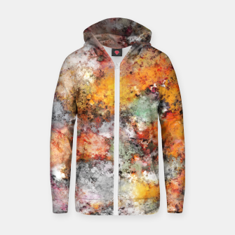 Thumbnail image of Stumbling through the storm Zip up hoodie, Live Heroes