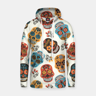 Thumbnail image of Colorful sugar skulls Hoodie, Live Heroes