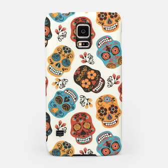 Thumbnail image of Colorful sugar skulls Samsung Case, Live Heroes