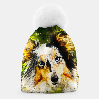 Thumbnail image of border collie dog 5 portrait wsstd Beanie, Live Heroes