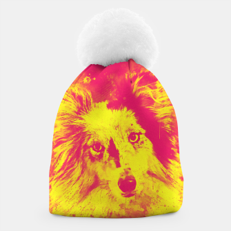 Thumbnail image of border collie dog 5 portrait wsyp Beanie, Live Heroes