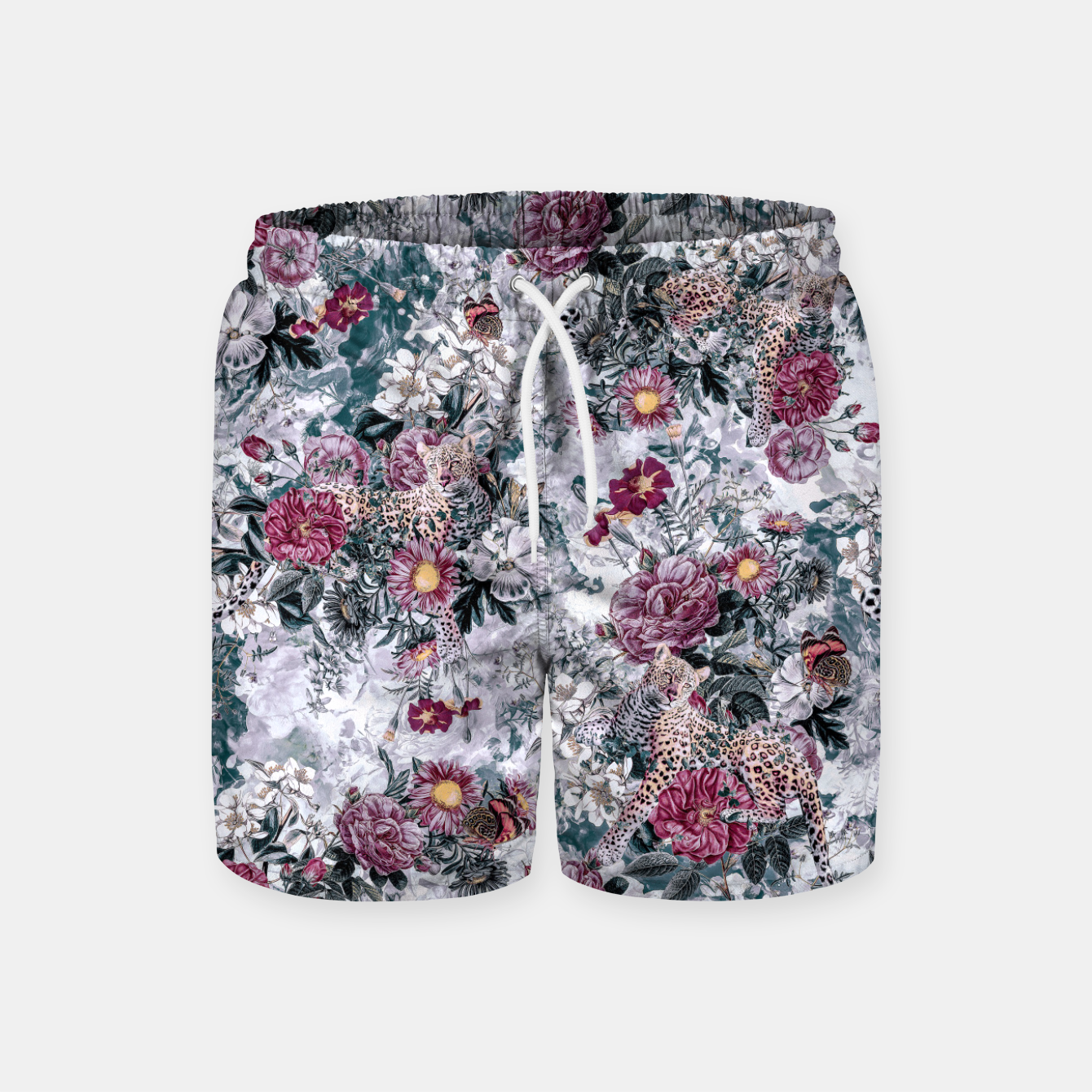 Image of Leopard Swim Shorts - Live Heroes
