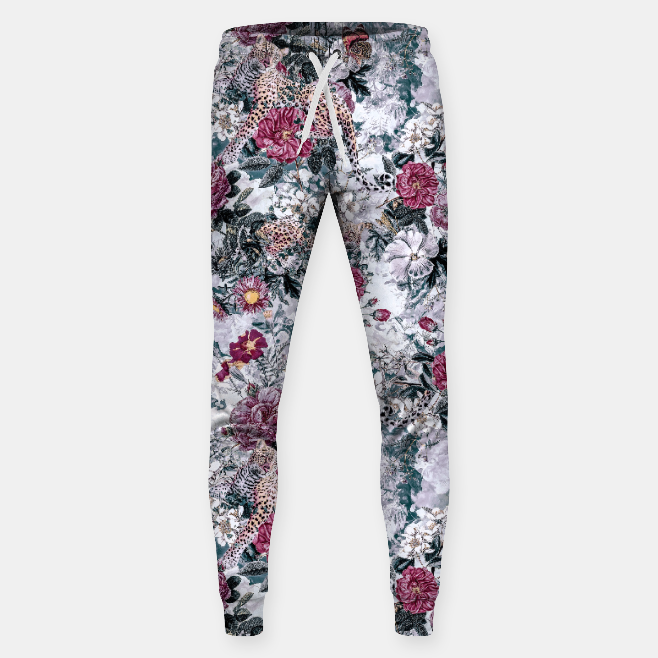 Image of Leopard Sweatpants - Live Heroes