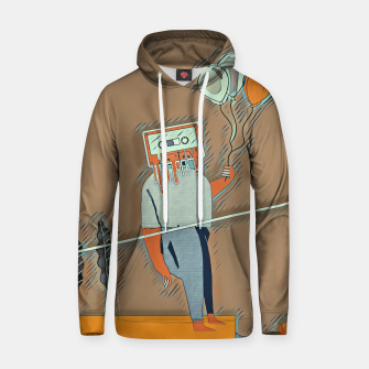 Thumbnail image of Cassette man Hoodie, Live Heroes