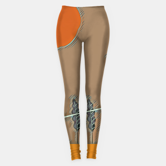 Cassette man Leggings thumbnail image