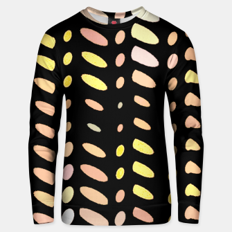 Thumbnail image of pastel abstract geometric pattern black background Unisex sweater, Live Heroes