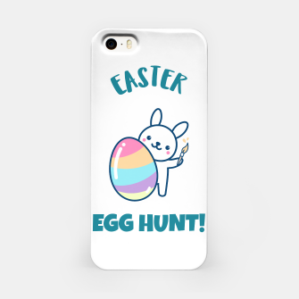 Miniaturka Cute easter bunny iPhone Case, Live Heroes