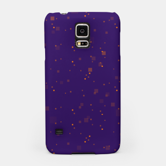 Thumbnail image of simple geometric pixel pattern 2 po Samsung Case, Live Heroes