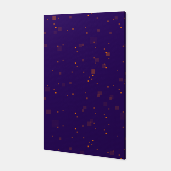 Thumbnail image of simple geometric pixel pattern 2 po Canvas, Live Heroes