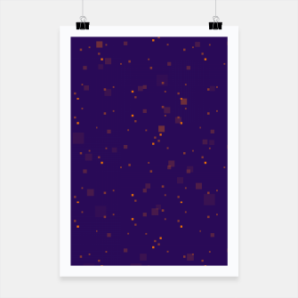 Thumbnail image of simple geometric pixel pattern 2 po Poster, Live Heroes