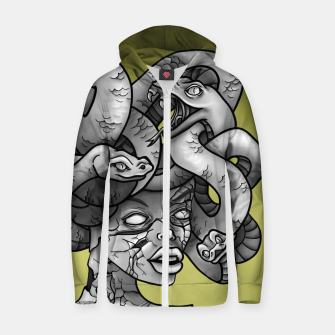Thumbnail image of Medusa Zip up hoodie, Live Heroes