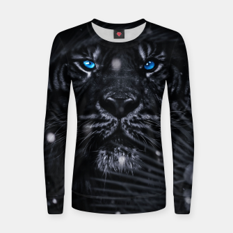 Miniature de image de Jungle Tiger Frauen sweatshirt, Live Heroes