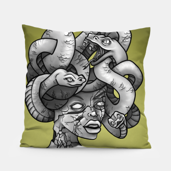 Thumbnail image of Medusa Pillow, Live Heroes