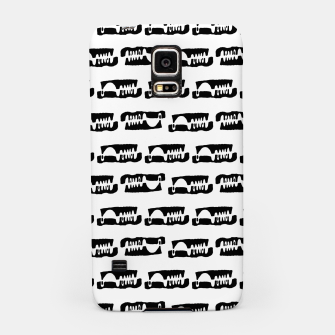 Thumbnail image of Black and White Abstract Ethnic Print Pattern Samsung Case, Live Heroes