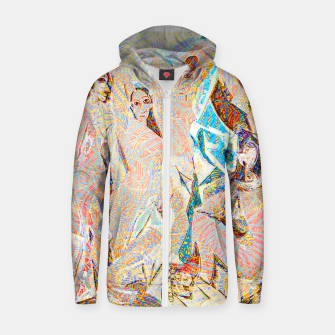 Thumbnail image of picasso Zip up hoodie, Live Heroes