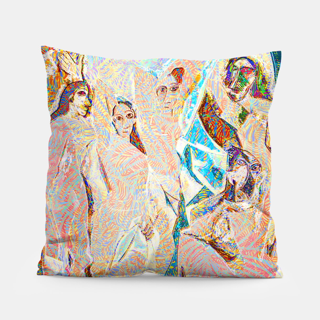 Image of picasso Pillow - Live Heroes