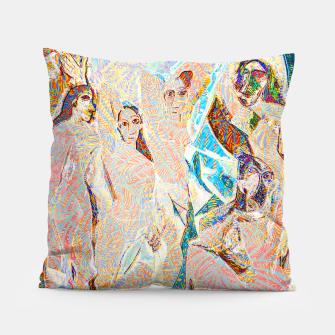 Thumbnail image of picasso Pillow, Live Heroes