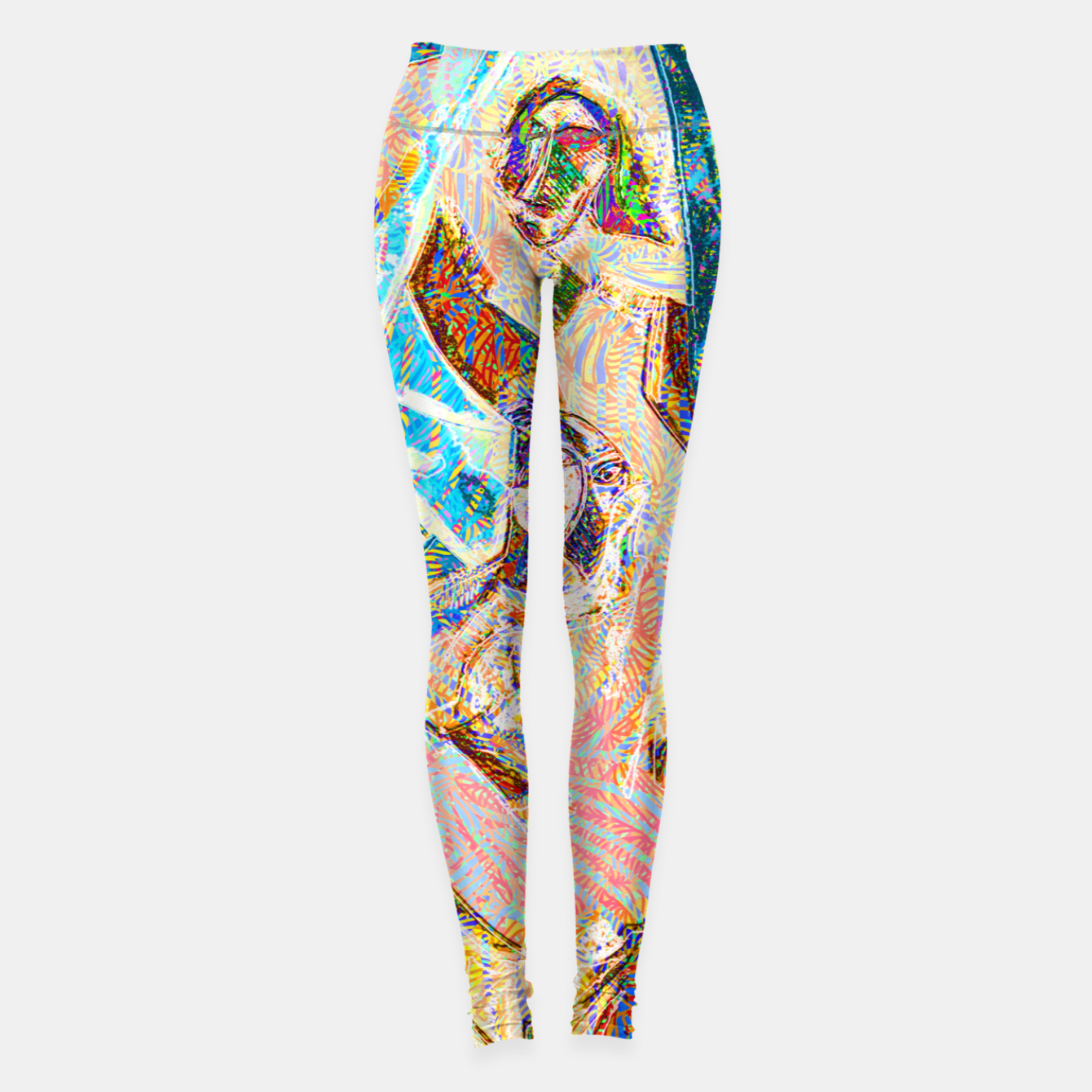 Image of picasso Leggings - Live Heroes